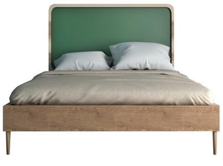 Кровать ellipse (etg-home) зеленый 126x120x196 см.