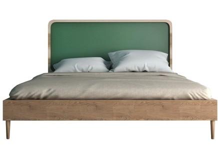 Кровать ellipse (etg-home) зеленый 166x120x206 см.