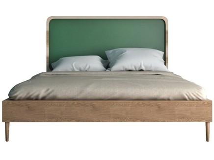 Кровать ellipse (etg-home) зеленый 146x120x206 см.