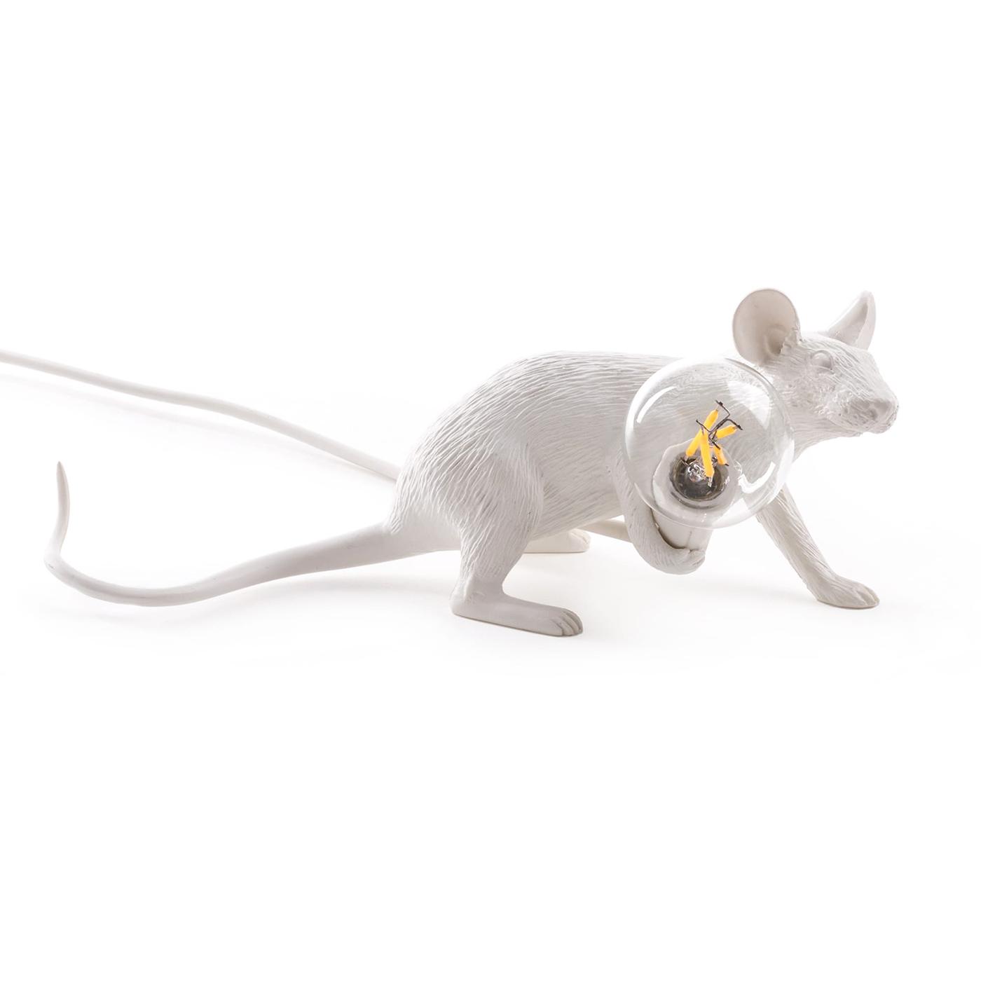 Настольная лампа Mouse Lamp Lie DownДекоративные лампы<br>Вид цоколя: E12Мощность: 1WКоличество ламп: 1 (нет в комплекте)<br><br>kit: None<br>gender: None