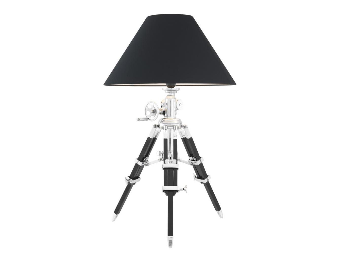 Настольная лампа Royal MarineДекоративные лампы<br>Вид цоколя: E27Мощность: 40WКоличество ламп: 1 (нет в комплекте)Высота лампы регулируется в пределах 77-102 см.<br><br>kit: None<br>gender: None