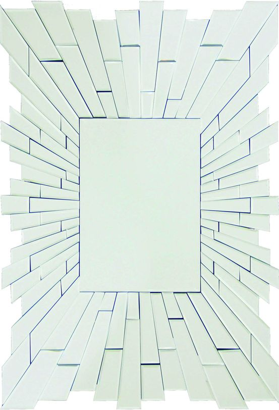 ЗеркалоНастенные зеркала<br>Настенное зеркало в американском стиле благодаря мозаичной рамке и особому построению композиции создает 3d эффект, который привлекает внимание к такому, казалось бы, простому предмету как зеркало.<br><br>Material: Стекло<br>Length см: 90.0<br>Width см: 60.0<br>Depth см: None<br>Height см: 1.9<br>Diameter см: None