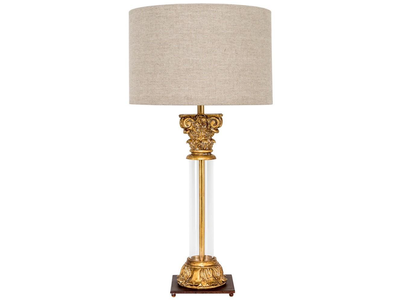 Настольная лампа юна (object desire) золотой 80.0 см. фото
