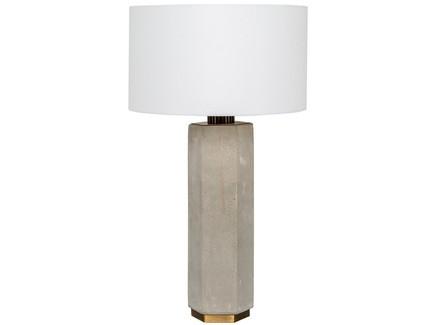 Настольная лампа санлис (object desire) серый 73 см.