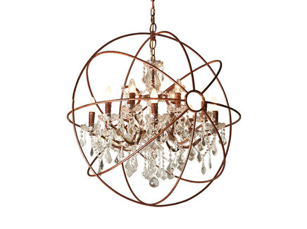 Люстра IRON ORB CHANDELIER