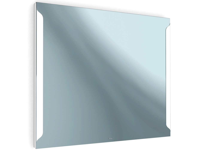 Зеркало с подсветкой TeneriНастенные зеркала<br>Зеркало с подсветкой Teneri создано дизайнером для уютного и стильного интерьера. Идеально впишется как в ванную, так и в спальню, гостиную и любую другую комнату. Основа изделия - серебряная амальгама, которая придает влагостойкость и обеспечивает качественное изображение. Встроенная LED-подсветка по периметру с мягким и ровным свечением и светопропускающий пластик (материал корпуса) придают зеркалу эффект невесомости. Подсветка обеспечивает до 50 000 часов работы при совсем малом потреблении электроэнергии. Благодаря простой системе подвеса зеркальное полотно подлежит быстрому и самостоятельному монтажу. <br>Гарантия: 3 года <br>Материал корпуса: Светопропускающий пластик<br>Подсветка: Встроенная LED <br>Тип света: Холодный, белый <br>Базовый тип выключателя: Кнопочный<br>Вид креплений: Крюк-костыль, дюбель по 2 шт. <br>Потребляемая мощность: 30 Вт <br>Напряжение подключения: 220 В <br>Класс защиты: IP 44<br>