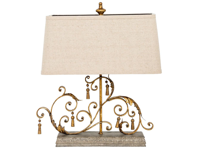 Настольная лампа альфа (object desire) бронзовый 51.0x62.0x28.0 см. фото