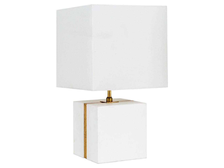 Настольная лампа ГифтНастольные лампы<br>Настольная лампа Гифт - идеал прогрессивного минимализма, славящего простор и функциональность интерьера. Непременную роль здесь исполняет белый рассеянный свет. Уютная белая лампа осветит Ваш интерьер атмосферной легкостью и свежестью. Основание светильника изготовлено из гипса. Этот материал используют для создания светильников с особым экстерьером, которые призваны дополнять общую картину. Тип цоколя: Е27. Количество ламп: 1 (в комплект не входит).Материал: основание - архитектурный гипс; каркас - металл; абажур - лен полиэстер<br>