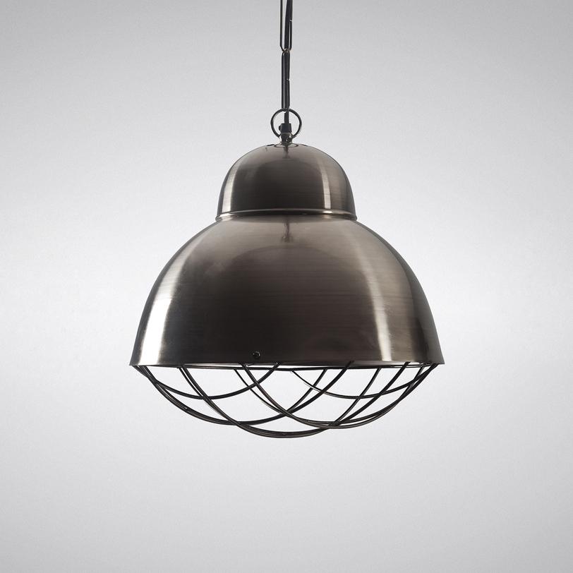 Лампа Caged DomeПодвесные светильники<br><br><br>Material: Металл<br>Length см: None<br>Width см: None<br>Depth см: None<br>Height см: 85.0<br>Diameter см: 37.0