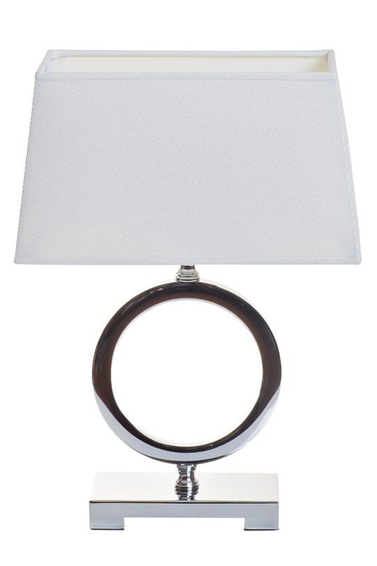 Настольная лампаДекоративные лампы<br>Оригинальный настольный светильник от Garda Decor в современном смелом дизайне отлично впишется в пространство, оформленное в стиле ар-деко. Отличительной деталью, конечно, является оригинальное основание в виде окружности, контрастирующее с прямоугольным абажуром и основанием.<br><br>Цоколь: E27<br>Мощность: 60W<br>Материал: ткань, металл<br><br>Material: Металл<br>Length см: 29.0<br>Width см: 14.0<br>Height см: 41.0