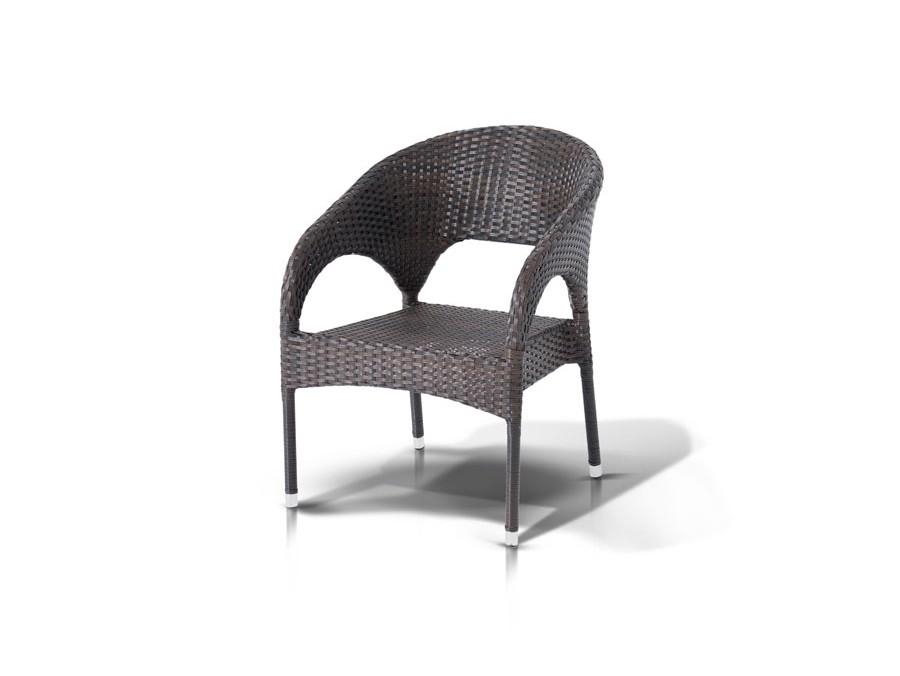 Стул КорреттоСтулья для сада<br>Алюминиевый каркас, плоский искусственный ротанг, ручное плетение.<br><br>kit: None<br>gender: None