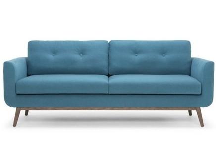 Диван malmo (myfurnish) голубой 180x87x89 см.
