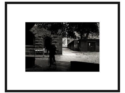 """Авторская арт-фотография """"Найди велосипедиста #2"""""""