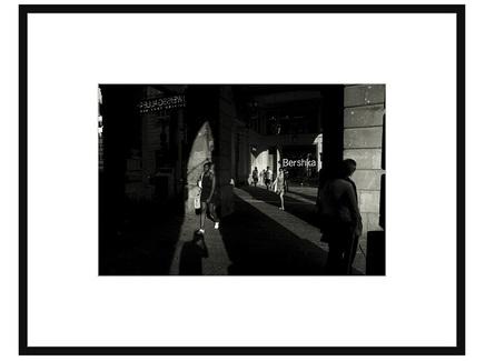 Авторская арт-фотография (george rouchin photography) черный 75x58 см.