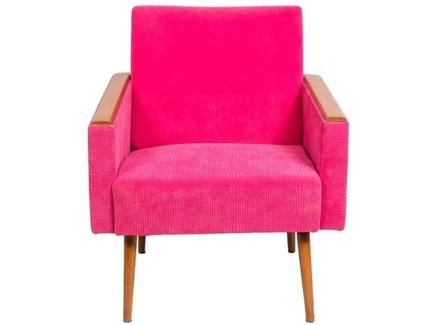 Кресло sputnik fusion (idea) розовый 67.0x70.0x77.0 см.