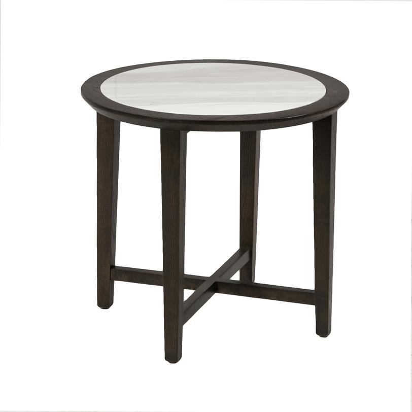 СтолКофейные столики<br>Этот кофейный столик, выполненный в классическом стиле, выглядит модно и современно. Круглая столешница из светлого мрамора великолепно смотрится в тёмном деревянном обрамлении; точёные ножки столика соединены крестообразной проногой. От этой модели веет духом парижских кафе.<br><br>Material: Мрамор<br>Length см: None<br>Width см: None<br>Depth см: None<br>Height см: 56<br>Diameter см: 60