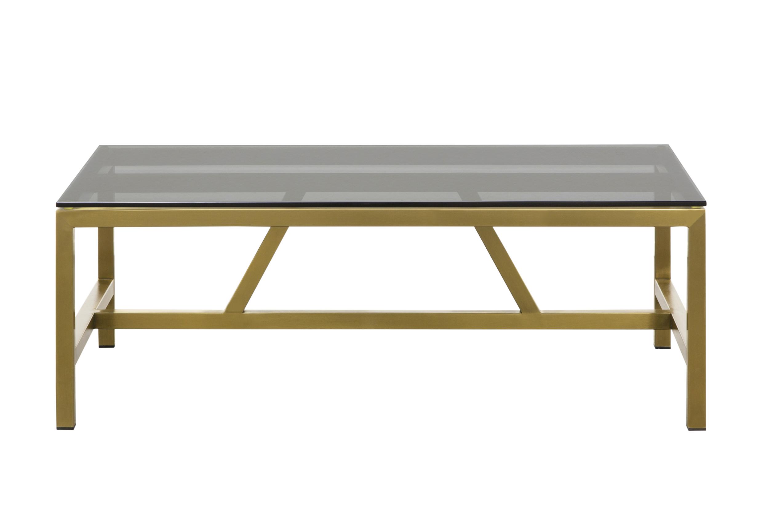 Журнальный столик TingerЖурнальные столики<br>Основание стола металлическое, столешница из тонированного стекла.<br><br>kit: None<br>gender: None