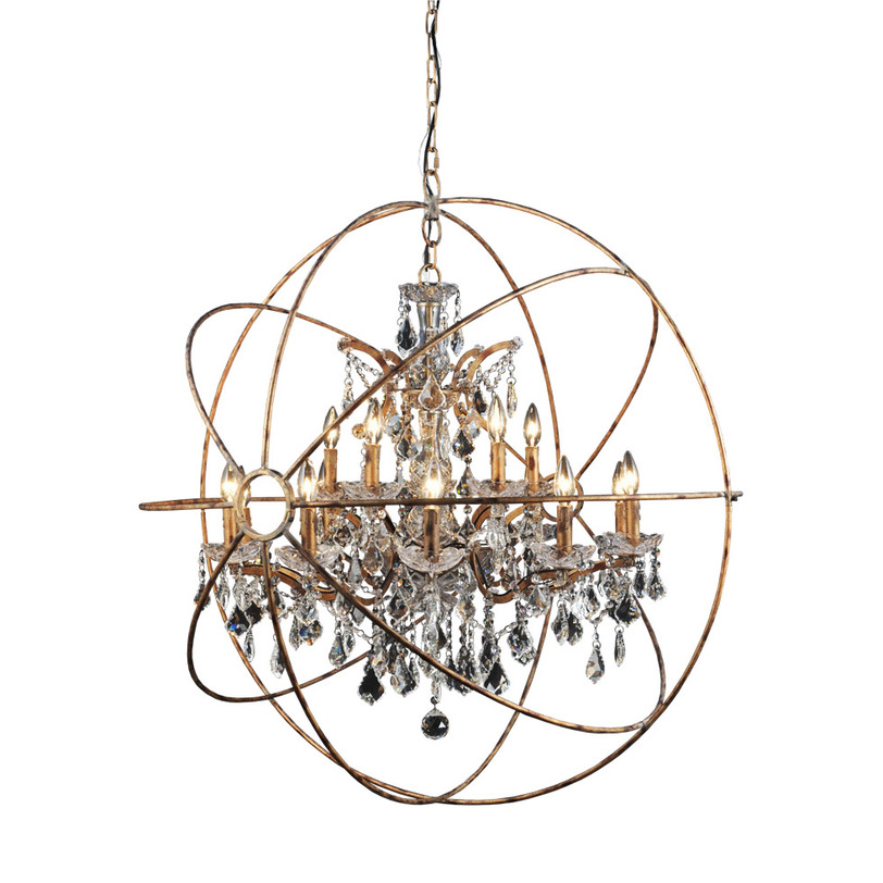 Gramercy Люстра IRON ORB CHANDELIER