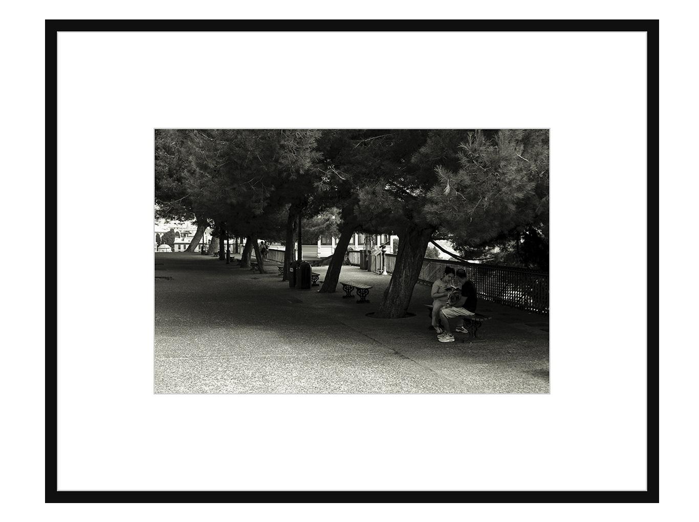 Авторская арт-фотография почитай мне (george rouchin photography) черный 75x58 см. фото