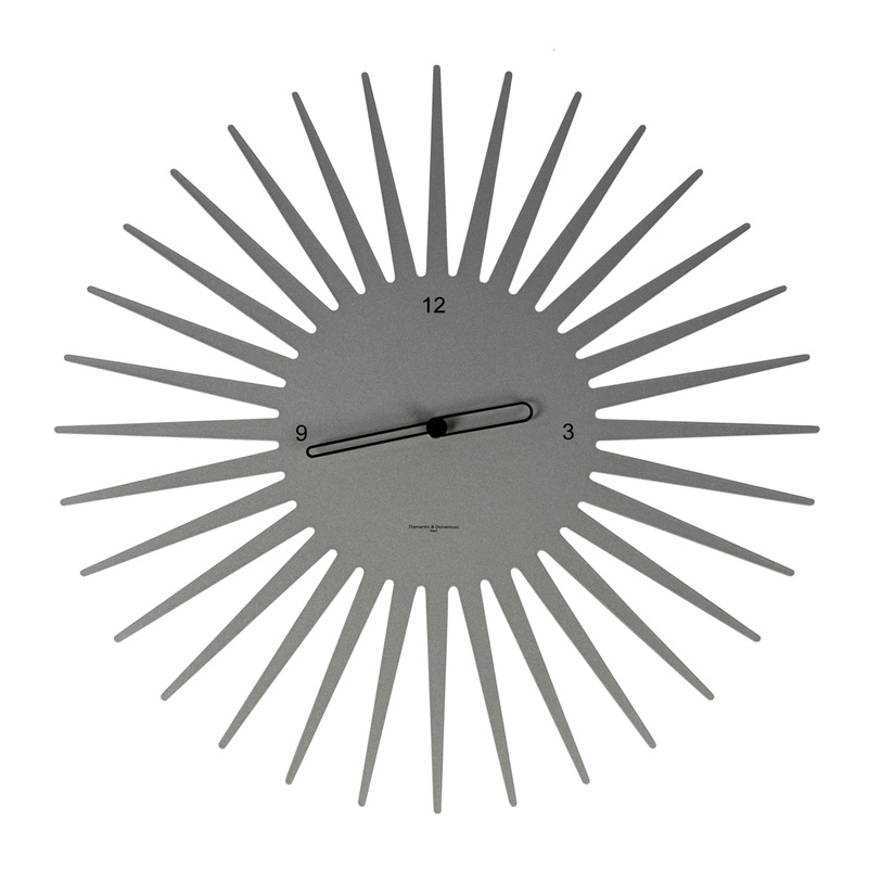 Настенные часы SUNНастенные часы<br><br><br>Material: Металл<br>Length см: None<br>Width см: None<br>Depth см: 2<br>Height см: None<br>Diameter см: 55