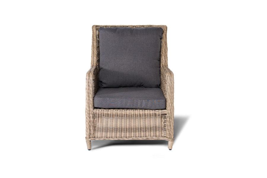Кресло соломенное
