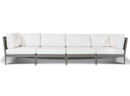 Четырехместный диван касабланка (outdoor) бежевый
