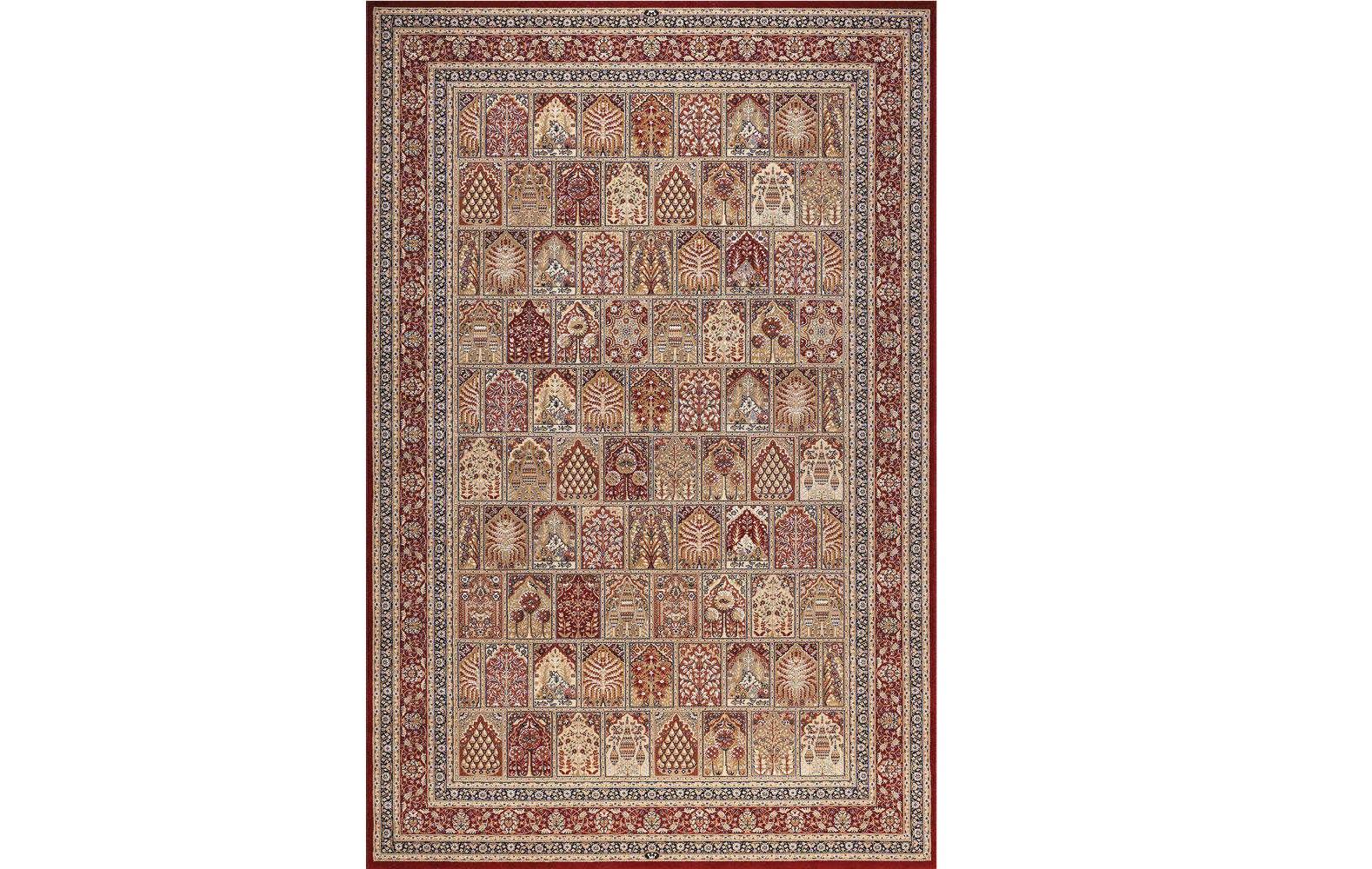 Ковер Nain mrПрямоугольные ковры<br>Размер: 2.4 х 3.4 м.Материал: шелк, шерсть.<br><br>kit: None<br>gender: None