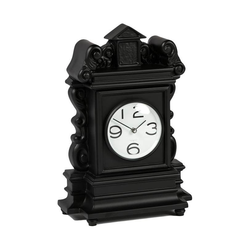 Часы ModernНастольные часы<br>Часы итальянского часового бренда Diamantini&amp;amp;amp;Domeniconi, известного с 1965 года, выполнены в классическом стиле: такие часы будут отлично смотреться на камине, консоли или приставном столике.<br><br>Material: Пластик<br>Ширина см: 28<br>Высота см: 42<br>Глубина см: 13