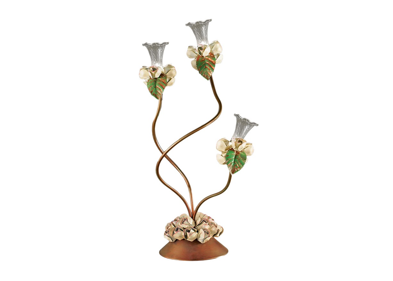 Настольная лампа RosetoНастольные лампы<br>Вид цоколя: G4Мощность: 20WКоличество ламп: 3