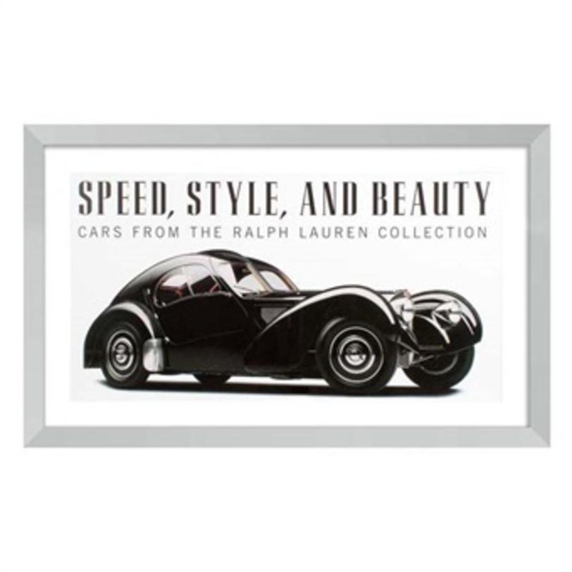 КартинаКартины<br>Винтажная картина с изображением автомобиля из коллекции Ralph Lauren. Элемент интерьера в стиле пин-ап или винтаж. Черно-белая цветовая гамма для спокойных пространств.<br><br>Material: Бумага<br>Length см: None<br>Width см: 110<br>Height см: 67