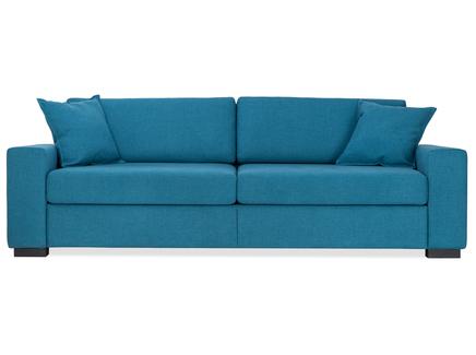 Диван-кровать hallstatt (myfurnish) бирюзовый 200x80x82 см.