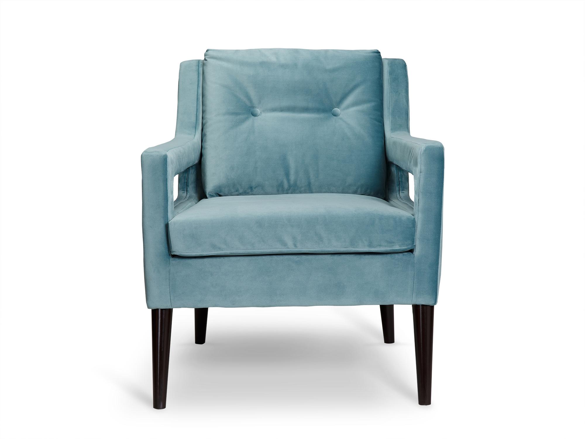 Кресло BurtonИнтерьерные кресла<br>Красивое кресло Burton небесно-голубого цвета разбавит любую комнату и сделает яркий акцент.<br><br>kit: None<br>gender: None