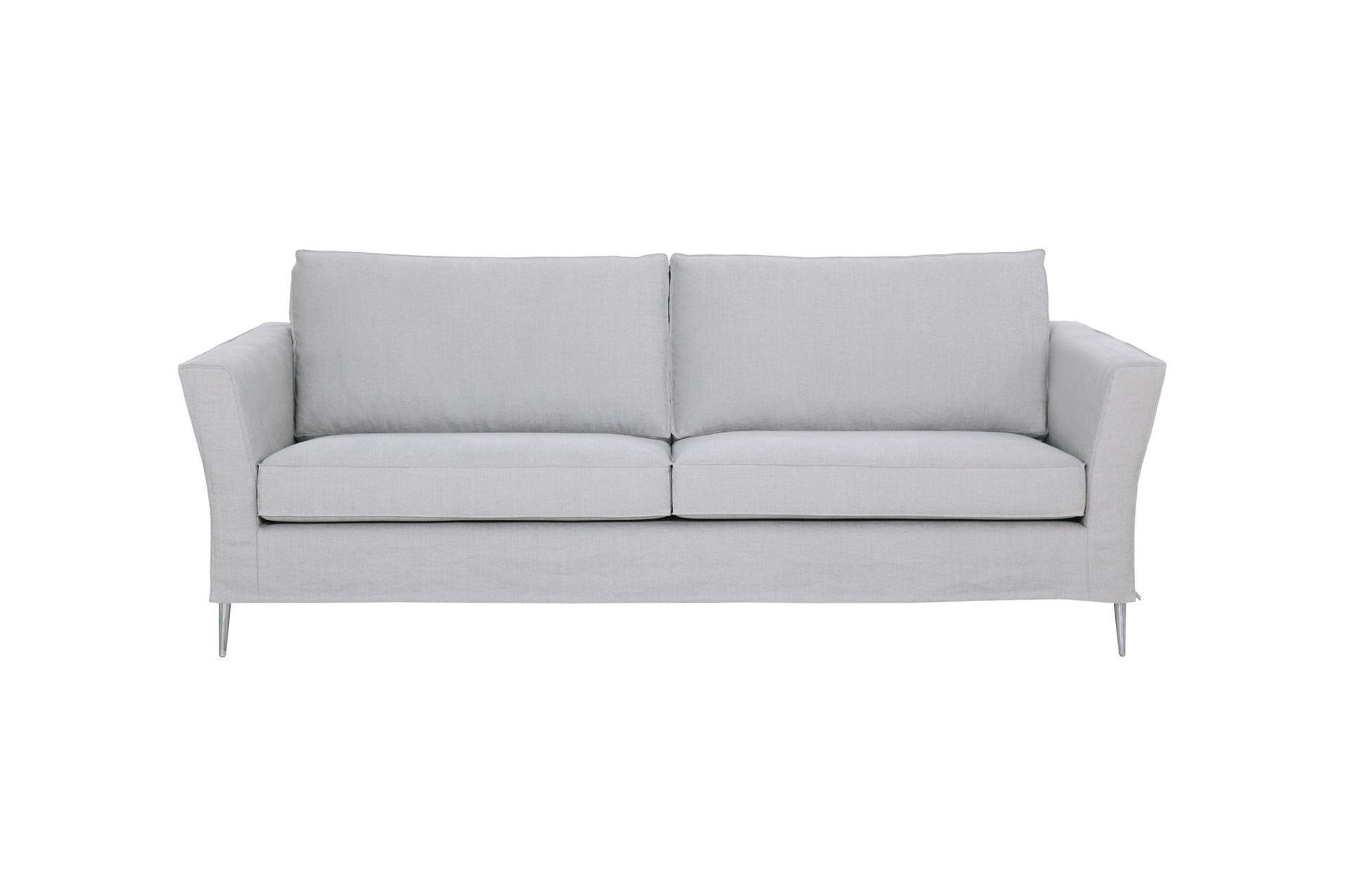 """Купить Диван """"caprice"""" (Sits) серый текстиль 210x85x92 см. 84986 в интернет магазине. Цены, фото, описания, характеристики, отзывы, обзоры"""