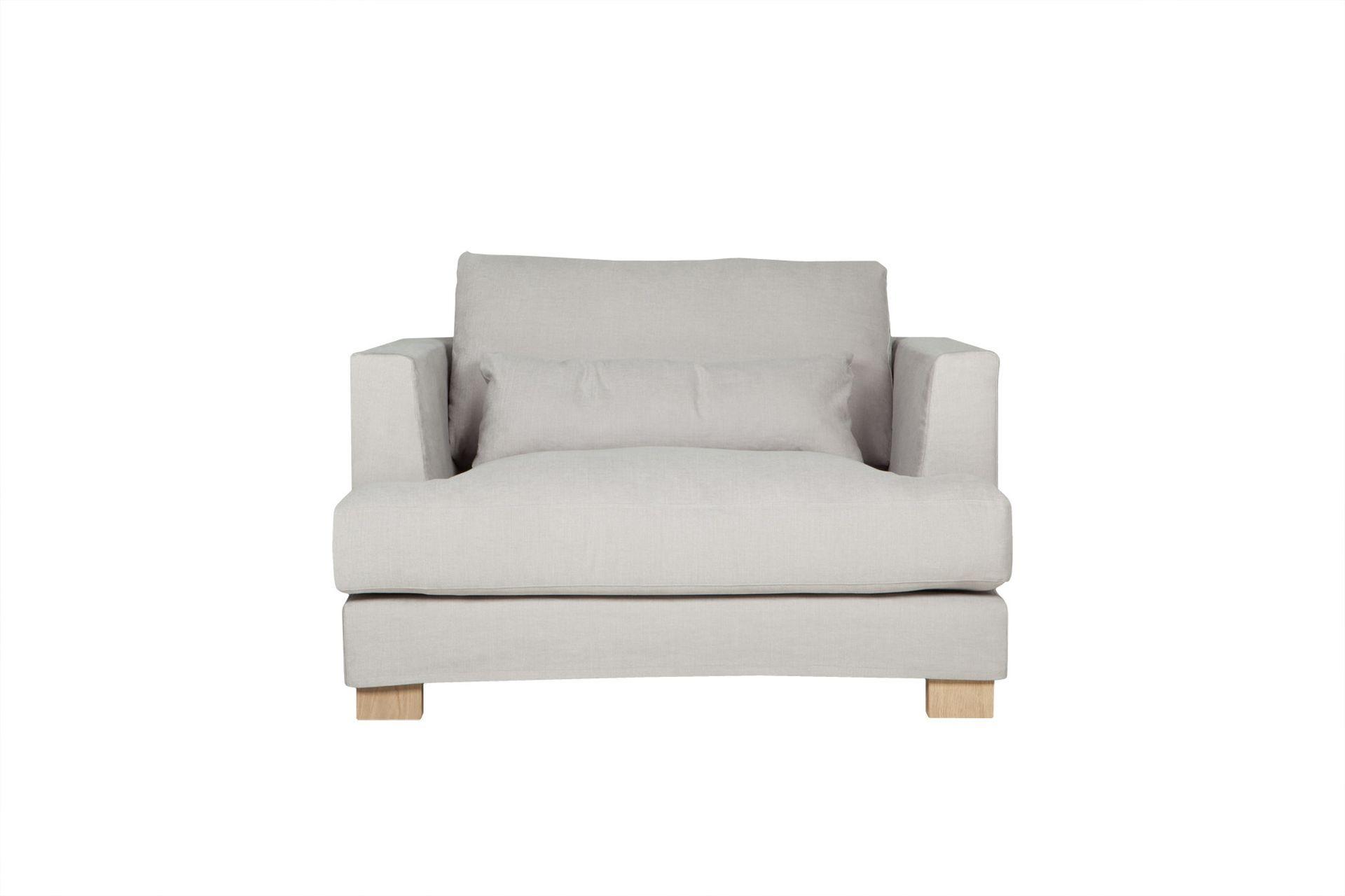 """Купить Кресло """"brandon"""" (Sits) серый текстиль 120x83x108 см. 85021 в интернет магазине. Цены, фото, описания, характеристики, отзывы, обзоры"""