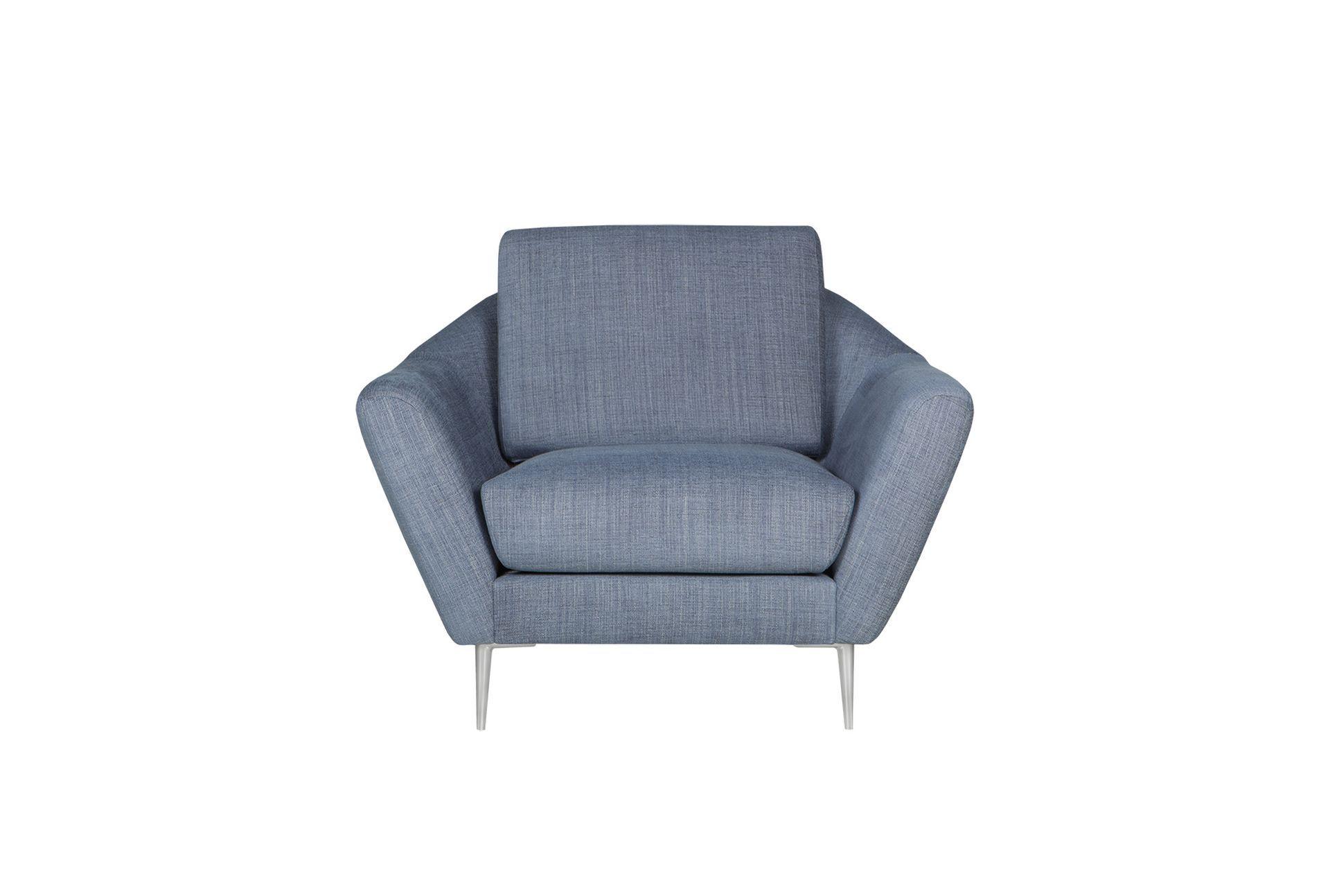 Кресло agda (sits) серый 104x84x94 см.