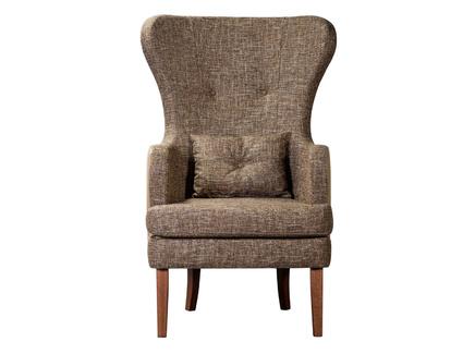 Кресло хилтон эко (r-home) коричневый 78.0x118.0x77.0 см.