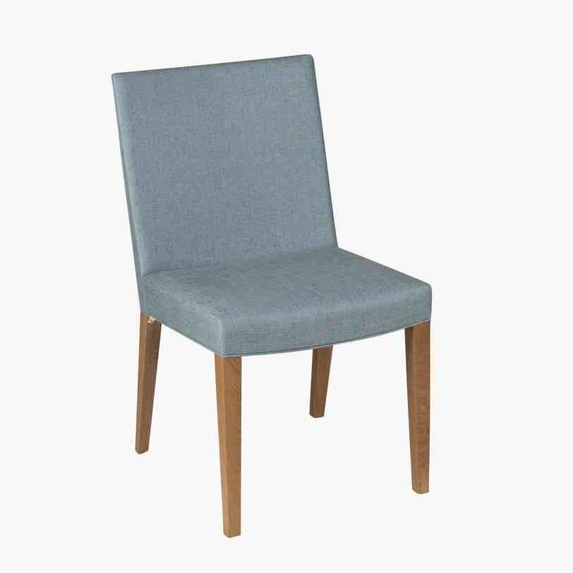 Стул GiselleОбеденные стулья<br>Мягкий обеденный стул от компании «Potocco», лидера в области создания мебели для сидения. Строгая элегантность отличает эту модель: светло-голубая текстильная обивка великолепно сочетается с каркасом, выполненным из светлого дерева. Такие стулья, как этот, могут задать настроение всему стилю комнаты, будь то гостиная или столовая.<br><br>Material: Текстиль<br>Length см: None<br>Width см: 48<br>Depth см: 60<br>Height см: 87