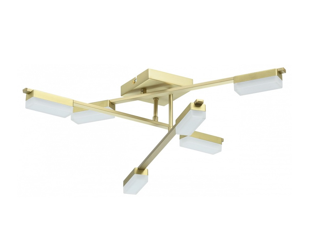 """Купить Потолочная люстра """"этингер"""" (Demarkt) золотой металл 15 см. 85355 в интернет магазине. Цены, фото, описания, характеристики, отзывы, обзоры"""