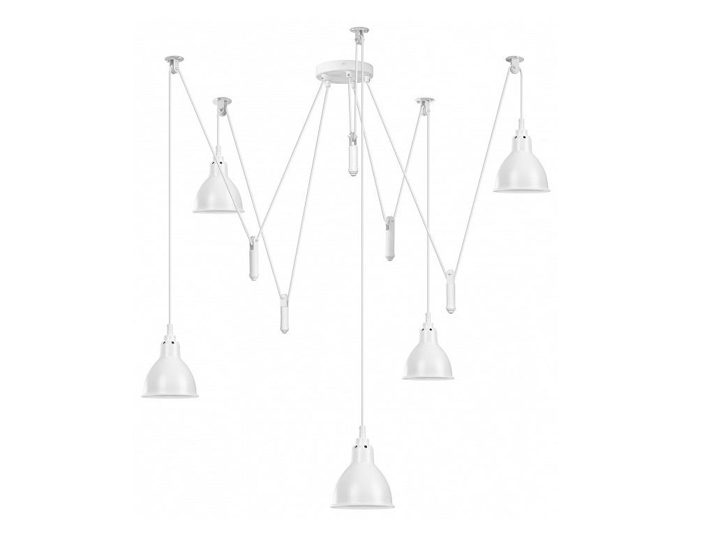Подвесной светильник acrobata (lightstar) белый 195 см. фото