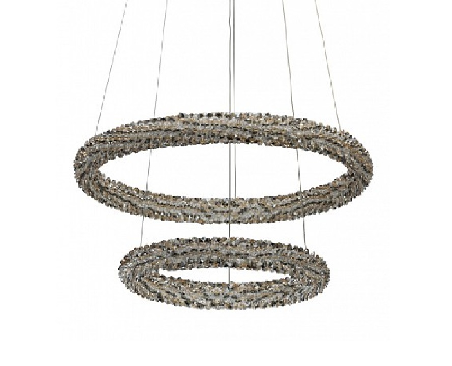 Подвесной светильник гослар (chiaro) серебристый 150 см. фото