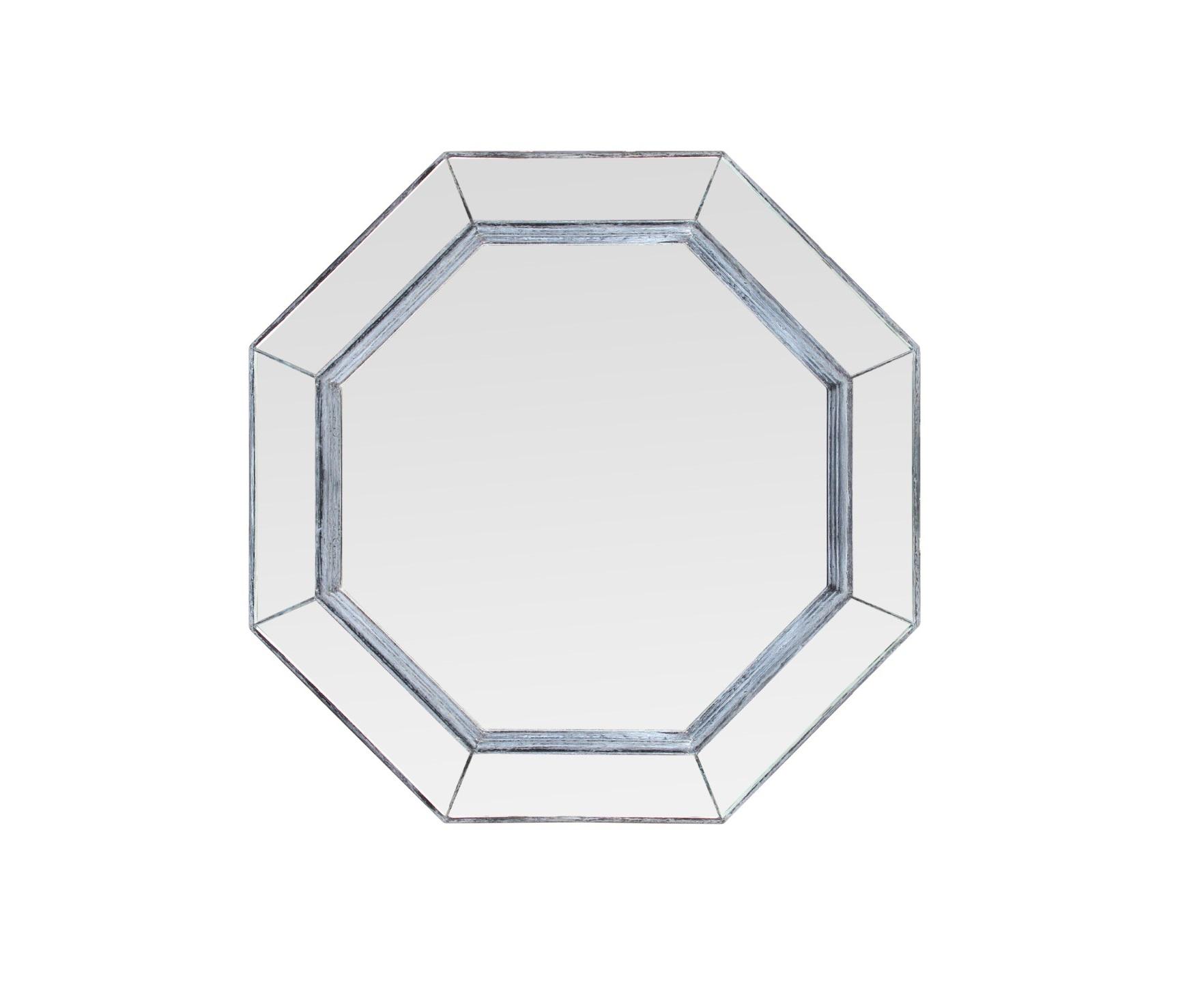 """Купить Зеркало """"elias"""" (Bountyhome) серебристый мдф 60x60x5 см. 85599 в интернет магазине. Цены, фото, описания, характеристики, отзывы, обзоры"""