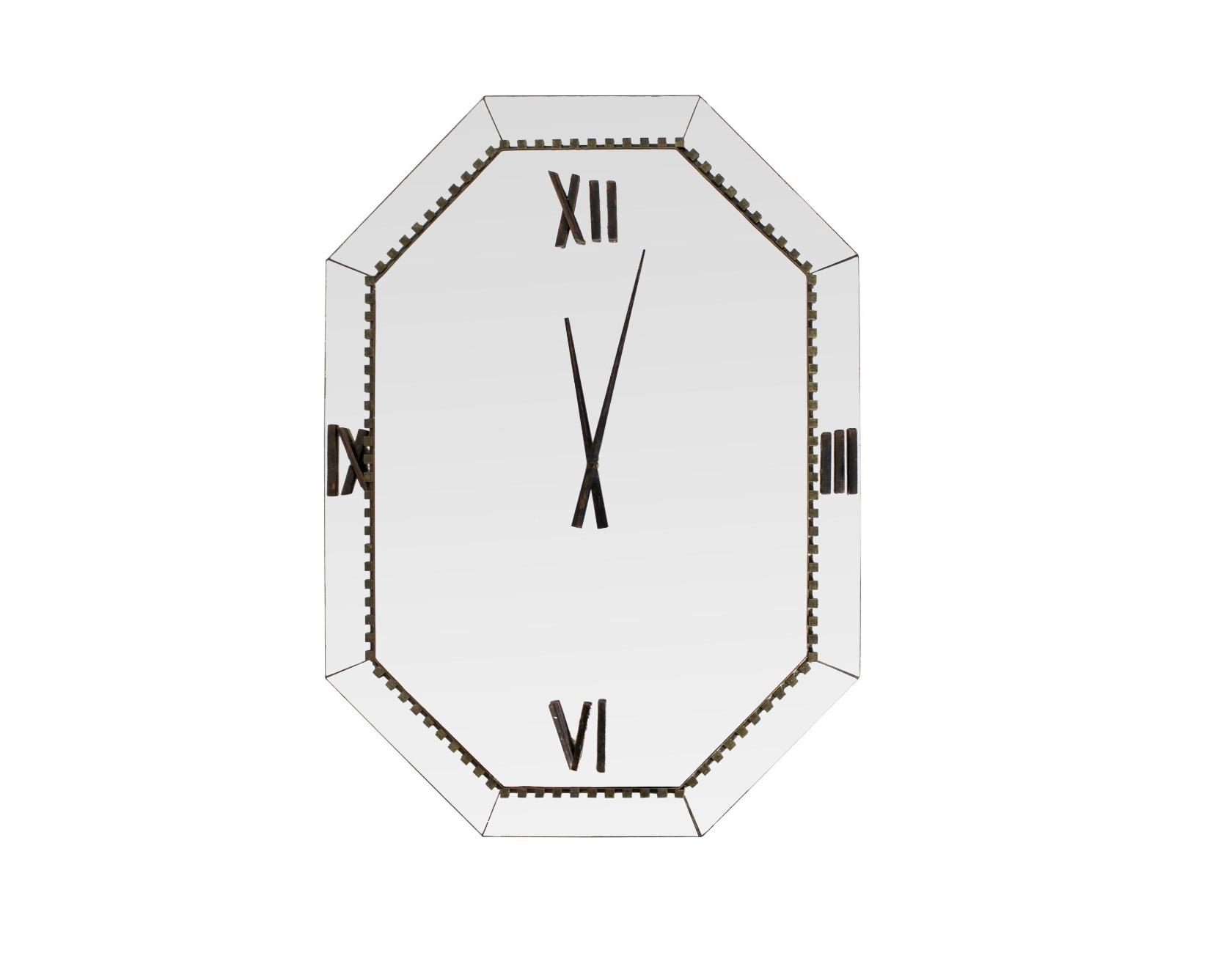 Зеркало-часы wilson (bountyhome) серебристый 60.0x85.0x4.0 см.