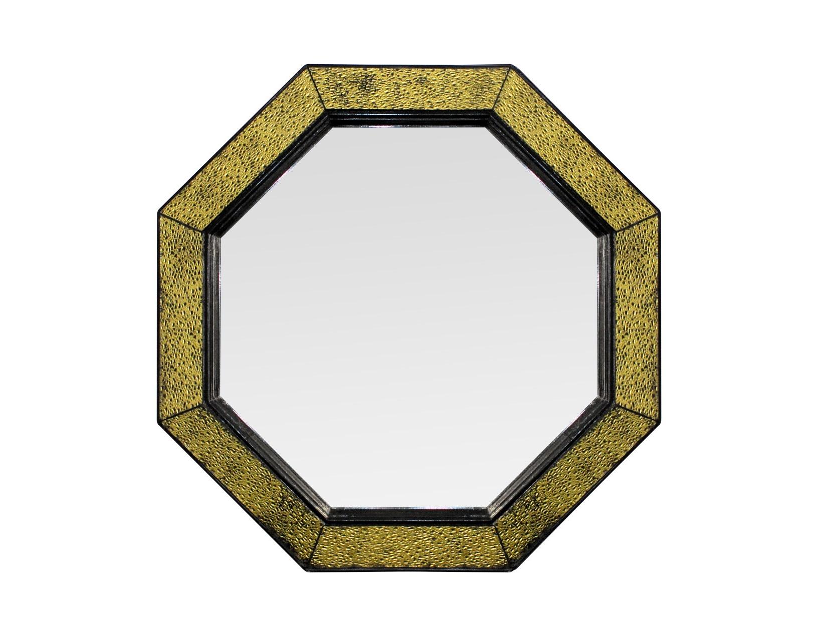 Зеркало maja (bountyhome) золотой 60.0x60.0x5.0 см. фото