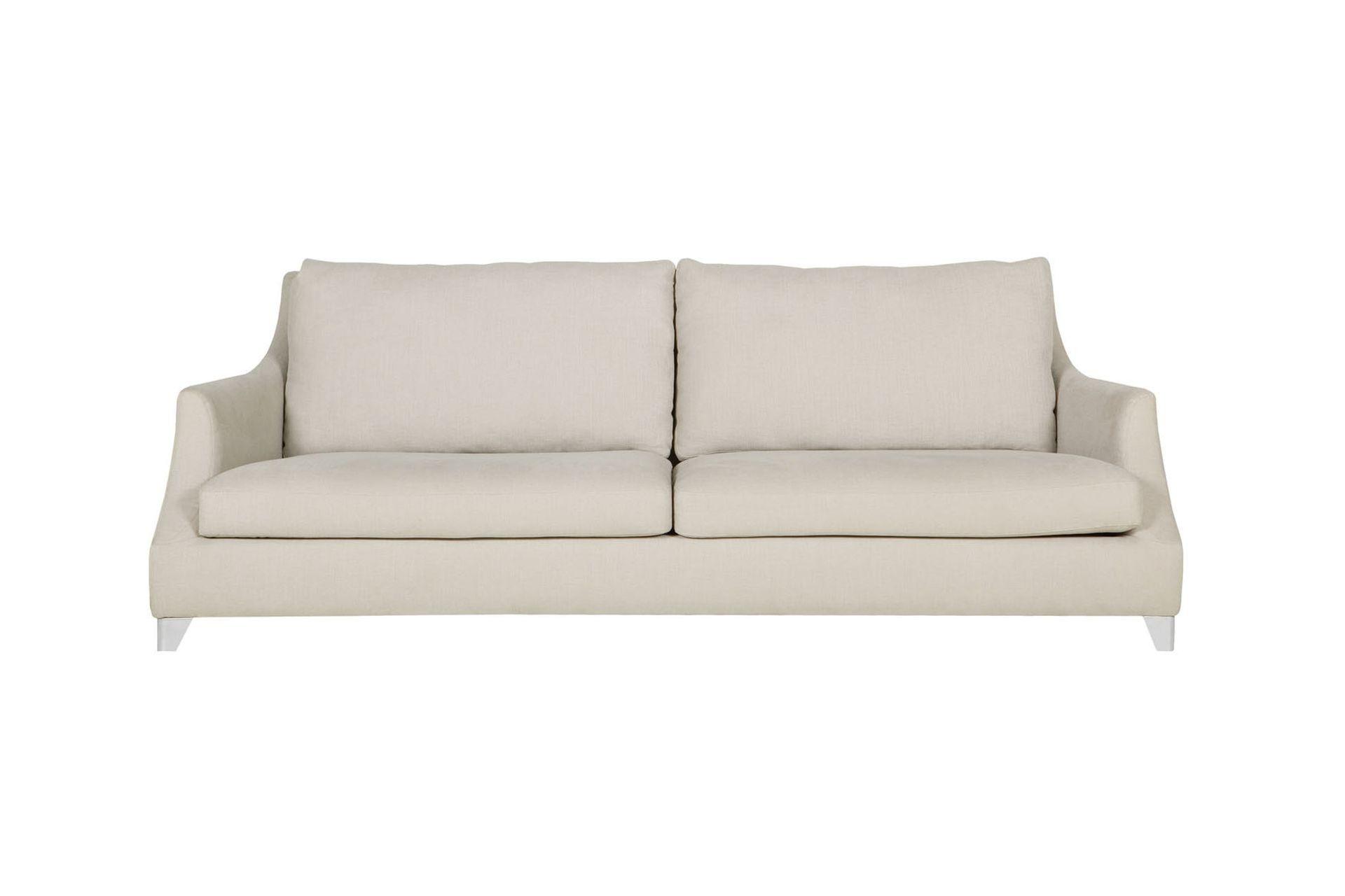 Диван RoseТрехместные диваны<br>Благодаря простым линиям, диваны ROSE выглядят классическими и элегантными. Однако использование в дизайне металлических ножек добавляет им нотки новизны, стиля и современности.