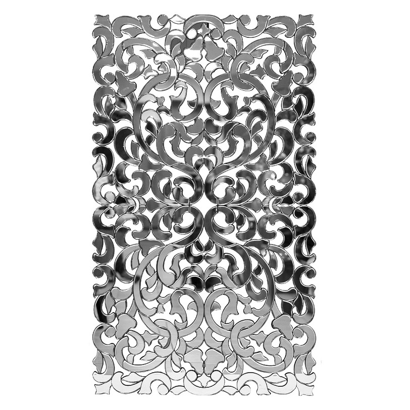 ЗеркалоНастенные зеркала<br>Это декоративное панно станет изысканным украшением французского интерьера. Аксессуар отделан множеством зеркальных элементов различной формы. Вместе они создают ажурную композицию, составленную из растительных орнаментов. Образ, напоминающий цветущий сад, наполнит пространство атмосферой романтики и красоты. &amp;amp;nbsp; &amp;amp;nbsp;&amp;amp;nbsp;<br><br>Material: Стекло<br>Length см: None<br>Width см: 153.7<br>Depth см: None<br>Height см: 89.0<br>Diameter см: None