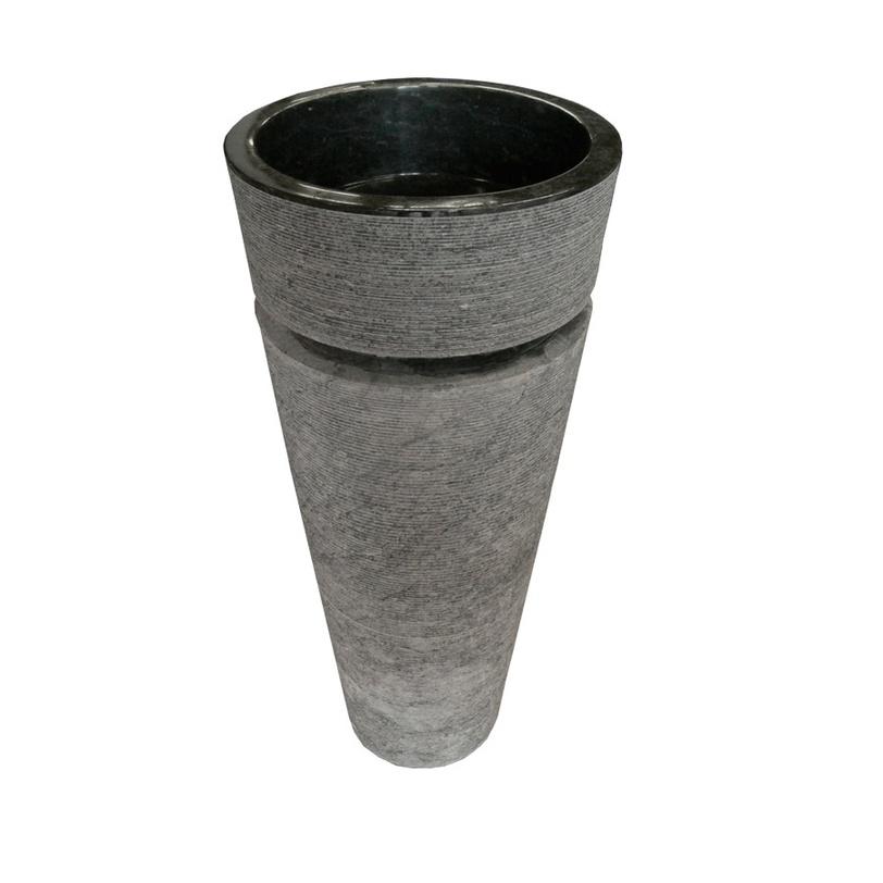 Раковина Kelud сераяРаковины<br>Раковина Kelud серая<br><br>Material: Камень<br>Ширина см: 40<br>Высота см: 92