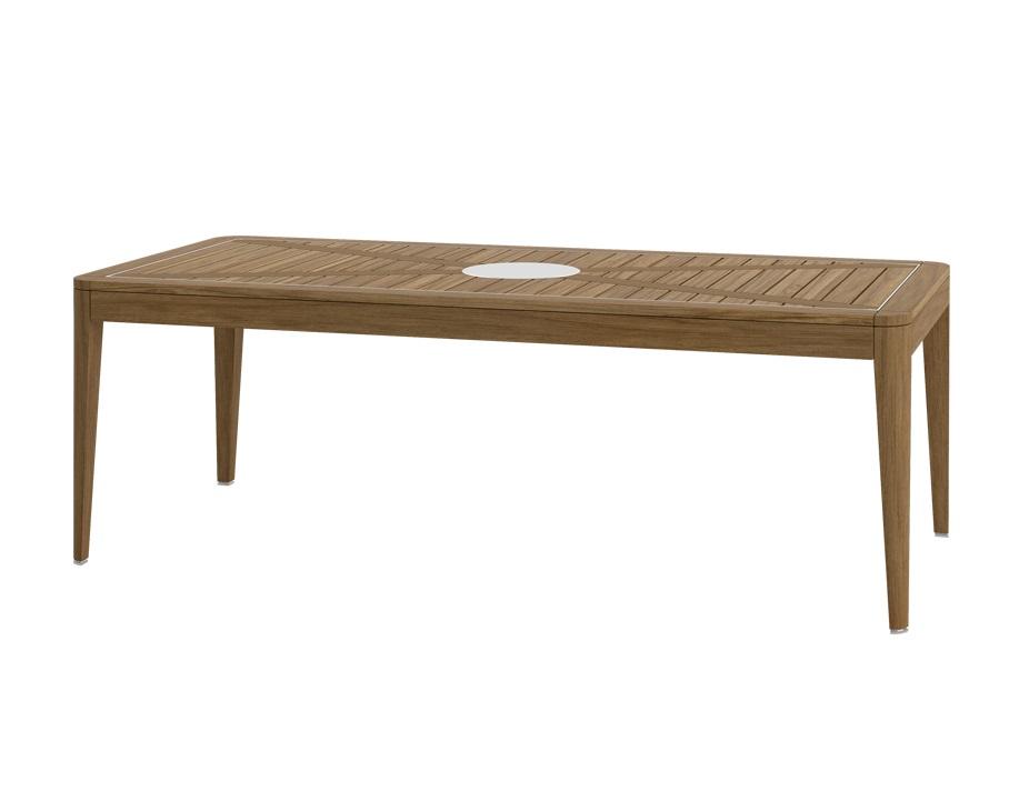 Стол обеденный legend (atmosphera) коричневый 220x75x100 см.