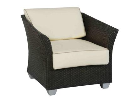 Кресло barbados (atmosphera) коричневый 90x80x86 см.