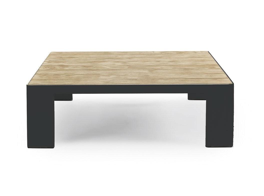 Стол esedra (ethimo) коричневый 90x28x90 см. фото