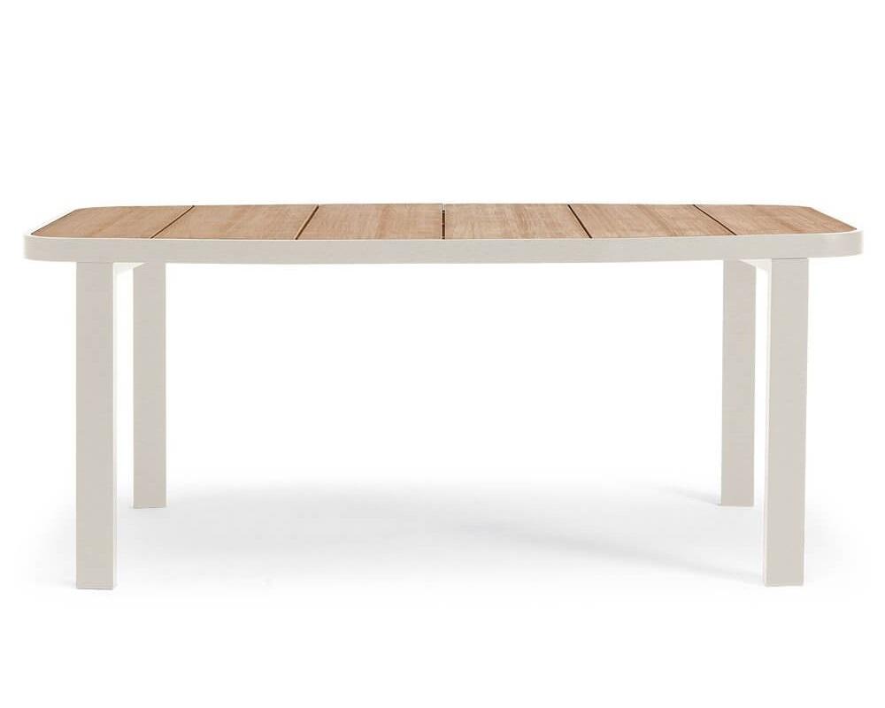 Стол обеденный swing (ethimo) белый 190x75x90 см. фото